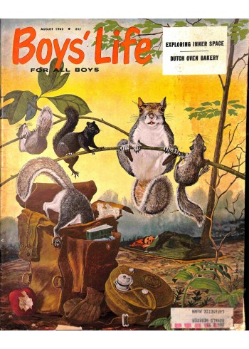 Cover Print of Boys Life, August 1962