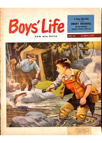 Cover Print of Boys Life, June 1952