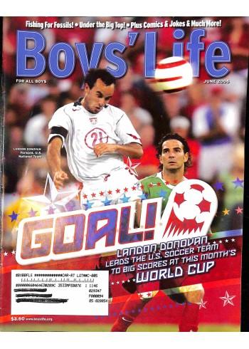 Cover Print of Boys Life, June 2006