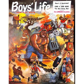 Cover Print of Boys Life, September 1955
