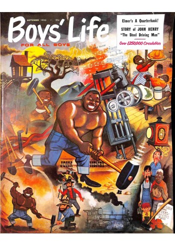 Cover Print of Boys Life, September 1955
