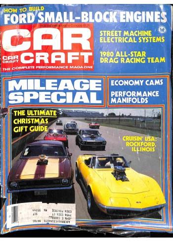 Cover Print of Car Craft, December 1980