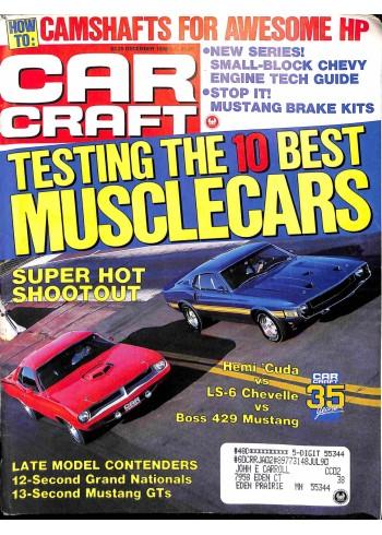 Cover Print of Car Craft, December 1988