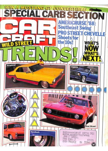 Cover Print of Car Craft, February 1988