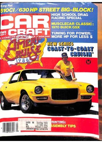 Car Craft, January 1986