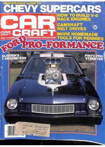 Cover Print of Car Craft, May 1982