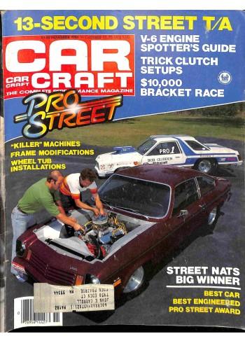 Cover Print of Car Craft, November 1981