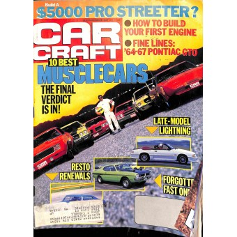 Cover Print of Car Craft, November 1987