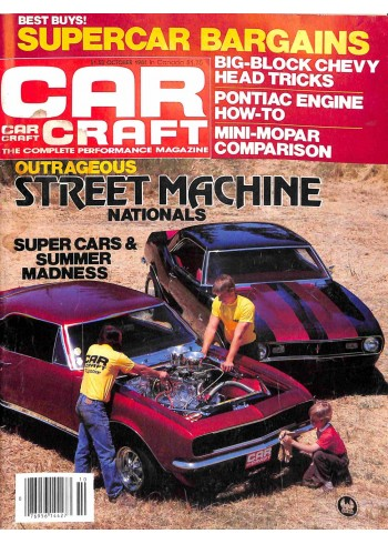 Car Craft, October 1981