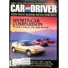 Car and Driver, April 1988