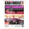 Cover Print of Car and Driver, August 1999