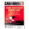 Cover Print of Car and Driver, February 1991
