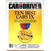 Cover Print of Car and Driver, January 1991