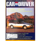 Car and Driver, June 1986