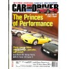 Cover Print of Car and Driver, April 2001
