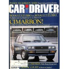 Car and Driver Magazine, August 1981