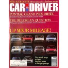 Cover Print of Car and Driver, July 1981
