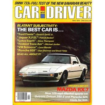 Car and Driver, May 1978