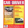 Cover Print of Car and Driver, November 1977