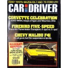 Cover Print of Car and Driver Magazine, September 1978