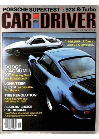 Car and Driver, April 1978