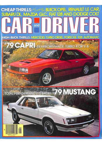 Car and Driver, August 1978