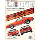 Car and Driver, January 1982