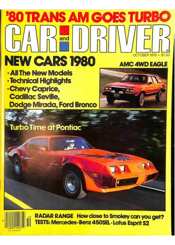 Car and Driver, October 1979