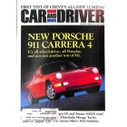 Cars and Driver, August 1989
