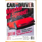 Cars and Driver, August 2000