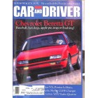 Cars and Driver, February 1987