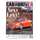 Cars and Driver, February 2001