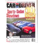 Cars and Driver, January 2001