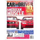 Cars and Driver, January 2005