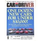 Cars and Driver, July 1992