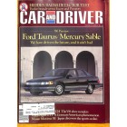 Cars and Driver, March 1985