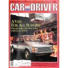 Cars and Driver, May 1983