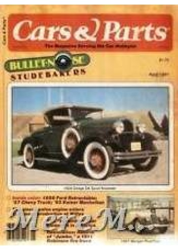 Cars and Parts, April 1981