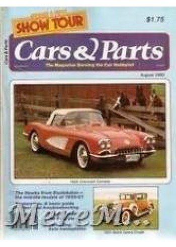 Cars and Parts, August 1980