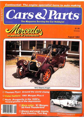 Cover Print of Cars and Parts, August 1984