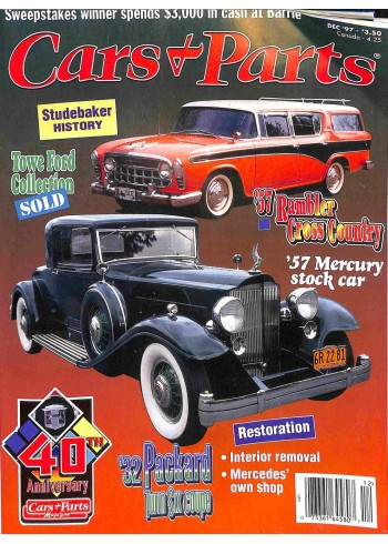 Cover Print of Cars and Parts, December 1997