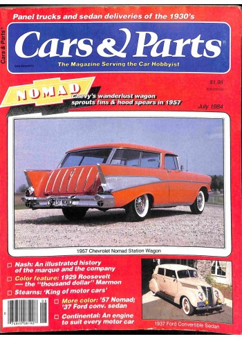 Cover Print of Cars and Parts, July 1984