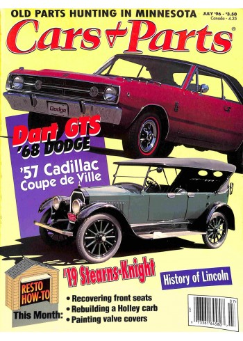 Cover Print of Cars and Parts, July 1996