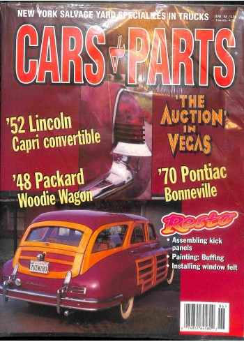 Cover Print of Cars and Parts, June 1998