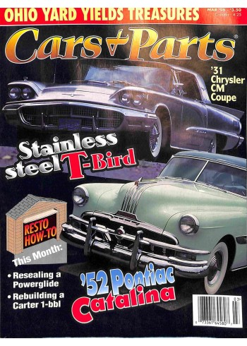 Cover Print of Cars and Parts, March 1996