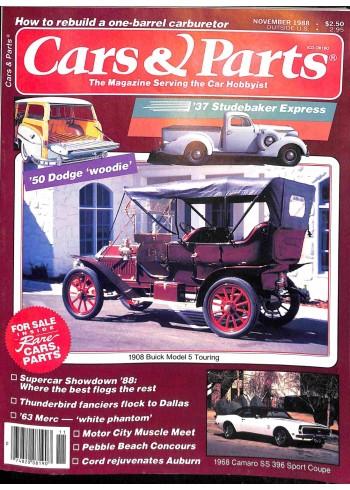 Cars and Parts, November 1988