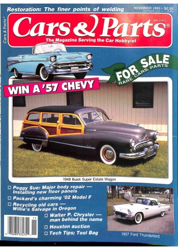Cover Print of Cars and Parts, November 1991