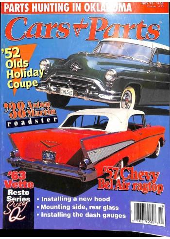 Cover Print of Cars and Parts, November 1995