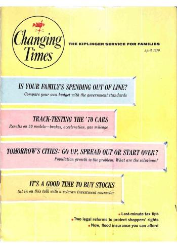 Changing Times, April 1970