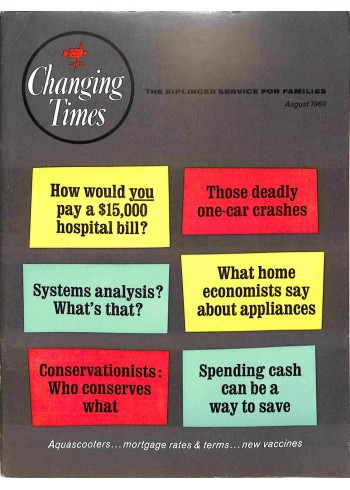 Cover Print of Changing Times, August 1969
